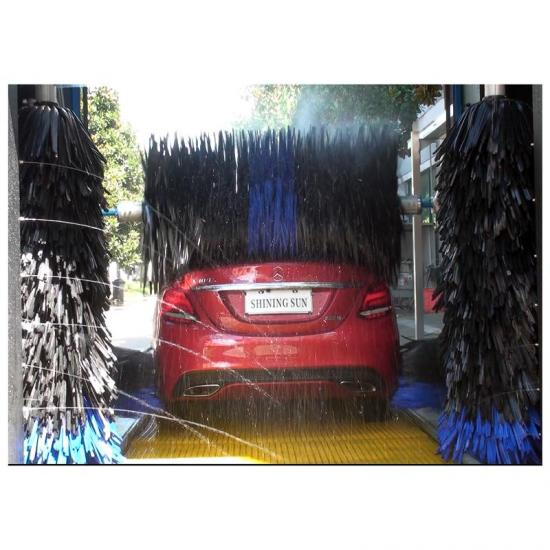 five brushes fully automatic rollover car washer