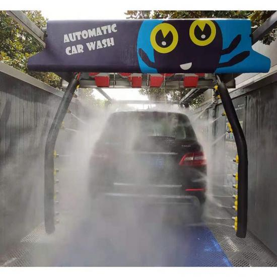 high pressure intelligent touchless automatic car wash machine