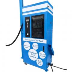 Self-service car wash machine