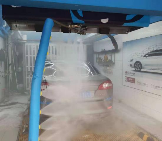 China Best 360 one arm high pressure automatic touch free car wash Supplier