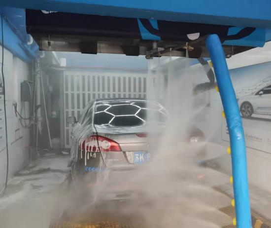 China Best New type touchless export standard one arm automatic car wash brushless automatic car wash machine Supplier