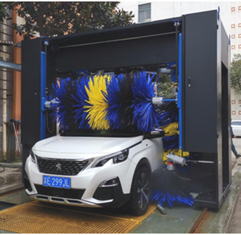 Different Outlook of Brush Car Washing Machine
